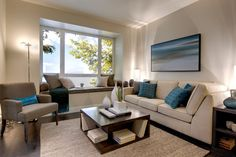 A small and cozy #livingroom in Lift by Porte Development