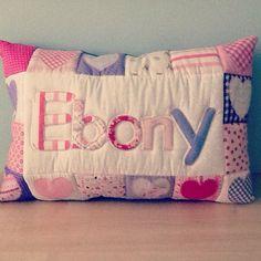 Em Teacup name pillow £35