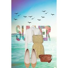 """""""a pinch of summer"""" by lopez-cres on Polyvore"""