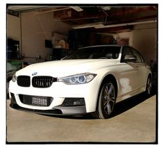 BMW Performance Style F30 M Tech Front Lip Spoiler