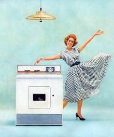 Always dance around your dryer in heels.