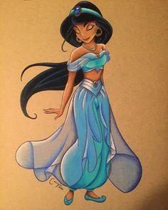Jasmine by caleigh7.deviantart.com on @DeviantArt