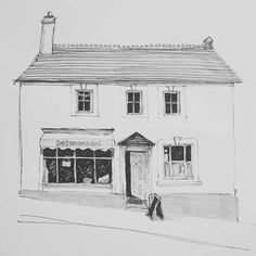 Home - Sally Atkins Pencil Shading, Cityscapes, Atkins, Deli, Sally, Buildings, Sketches, Illustrations, Portrait