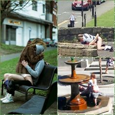 Random People Caught Publicly in Extremely Awkward Positions