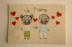 cara carmina textile collage!  (loooovely)