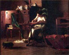 Dama escribiendo una carta s XIX - Buscar con Google