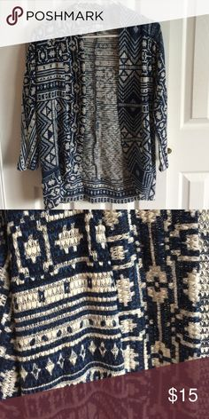 Eyeshadow sweater, Size S Aztec design Eyeshadow Sweaters