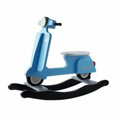Blue Wooden Rocking Scooter by j.i.p. | Toys | chapters.indigo.ca