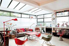 Um lindo loft em Paris e o desejo de sempre