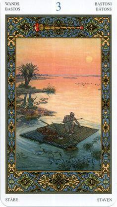 1001 Nights Tarot -03 Wands