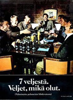 70-luvulta, päivää !: nostalgisia mainoskuvia