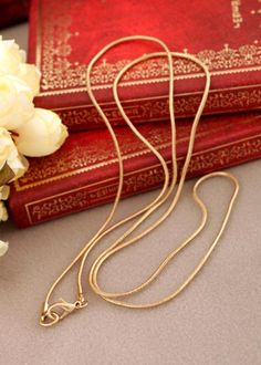 18KG Plated Fashion Gold Plated Chain Women's Necklace Long Design Necklaces…