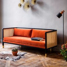 Red Edition wicker Sofa in Fox velvet - Canapé Cannage en velours Fox Red Edition Home Interior Design, Interior Design, Furniture, Home, Interior, Sofa Furniture, Home Furniture, Interior Furniture, Home Decor