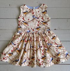 a little Wren dress for a Wren