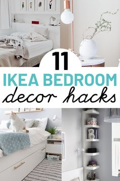 diy furniture hacks 11 IKEA hacks for bedroom. These IKEA hacks are great for anyone on a budget looking to transform your bedroom. Including IKEA Kullen nightstand hack, IKEA chest of drawers hack and IKEA midcentury hack ideas. Ikea Hacks, Ikea Bed Hack, Ikea Kallax Hack, Hacks Diy, Ikea Chest Of Drawers, Ikea Dresser, Ikea Bed Frames, Ikea Bedroom Furniture, Small Bedrooms