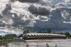 Calgary Flood 2013 - Peace Bridge