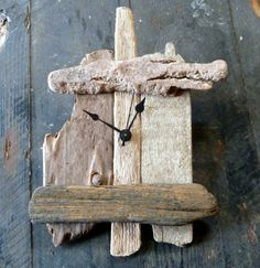 driftwood Clock | driftwood clock no. 2 - click to view