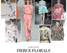 H&M catwalk report fierce florals