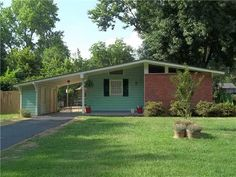 What a great little house! So much potential! It's in Memphis, TN... *sigh* Three bedrooms, one bath, nice yard -- $43,900!