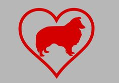 Shetland Sheepdog surrounded by a heart vinyl decal sticker for your car or laptop   Included: 1 Decal, test decal, and Installation instructions. Image shown is enlarged to show detail. It may not reflect the true dimensions of the decal. Please check the measurements before ordering. Decals are made of PREMIUM vinyl and can be used on just about any clean, smooth, hard surface. Decals are for one-time use. They are not reusable. They are easy to remove, making them great for temporary…