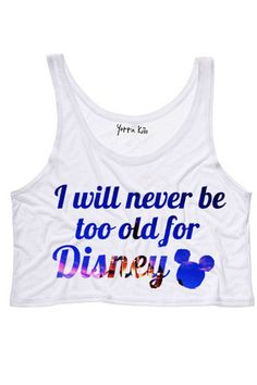 super cute Disney crop top....im literally purchasing this top right now. #Obsessed with Disney