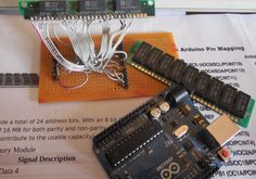 Using SIMMs to Add Some Extra RAM on your Arduino UNO ---- HEY HEY!!! For more COOL ARDUINO stuff, check out http://arduinohq.com
