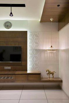 Tv Unit Bedroom, Master Bedroom Interior, Bedroom Bed Design, Home Room Design, Living Room Designs India, Living Room Tv Unit Designs, Tv Cabinet Design, Tv Wall Design, Ceiling Design