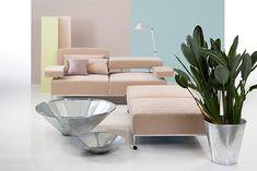 Airy von Brühl-heute in pastell Nordic Design, Scandinavian Design, Interior Concept, Interior Design, Modul Sofa, Nordic Living, Cuisines Design, My Living Room, Italy