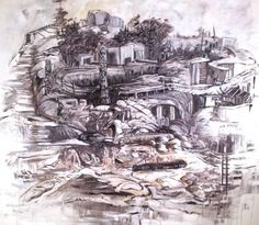 Hill Series: Coastal Aspirations Painted Hills, Oil On Canvas, Saatchi Art, Coastal, Original Paintings, Art Prints, Artist, Art Impressions, Artists