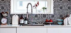 Stylové keramické obklady v kuchyni