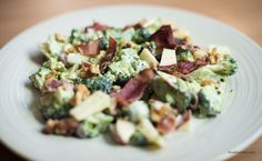 Broccoli and bacon salad Blog — Krystle's Corner