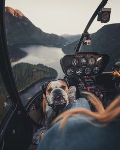 Helicopter flight in British Columbia, Canada.