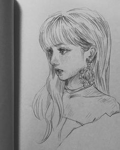 Drawing Pencil Blackpink 54 New Ideas Girly Drawings, Kpop Drawings, Cool Art Drawings, Pencil Art Drawings, Art Drawings Sketches, Pretty Art, Cute Art, Wow Art, Sketch Painting