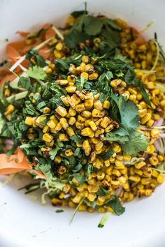 Roasted Corn And Raw Zucchini Coleslaw - Cook Republic Vegetarian Cabbage, Vegetarian Recipes, Cooking Recipes, Healthy Recipes, Work Meals, Lunches And Dinners, Ottolenghi Recipes, Yotam Ottolenghi, Zucchini