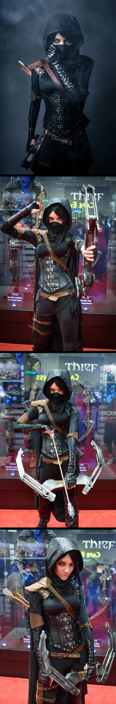 Fem Garrett - Thief 4 #cosplay by Lyz Brickley