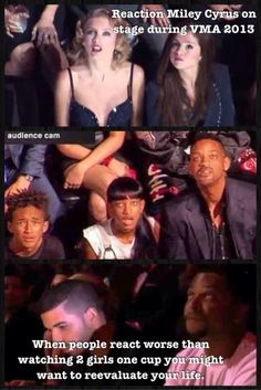 Will Smith's face is priceless lol! She needs an auntie and uncle to live with in Bel Air!