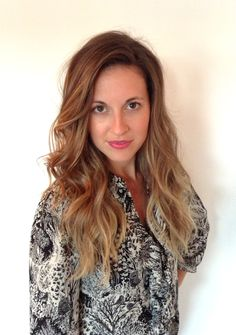 Soft ombre or sombre colour with a sexy beachy wave.