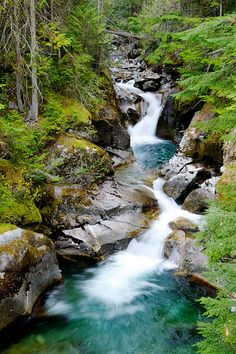 Kokanee Creek Waterfall - Canada