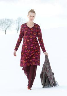 """""""Isört"""" dress in lyocell/spandex – Theme Norway – GUDRUN SJÖDÉN – Webshop, mail order and boutiques 