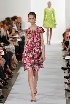 NY Fashion Week: Oscar De La Renta Spring 2014