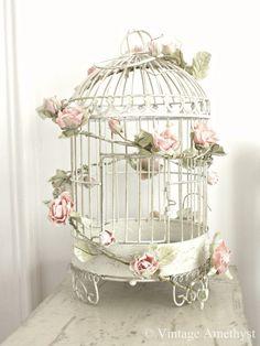 *Pretty Pink Rose Garland*Romantic Vintage Style*Shabby Chic*Wedding*Home* | eBay