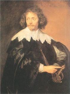 portrait 1655 | Portrait of Sir Thomas Chaloner - Anthony van Dyck