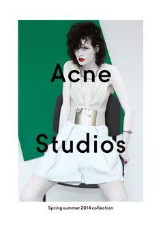 skt4ng:  Zlata Mangafic for Acne Studios SS 2014 Campaign | Photography by Viviane Sassen