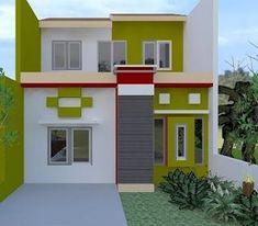 Kampung Warna Cat Luar Rumah Terkini Desain Dekorasi Rumah