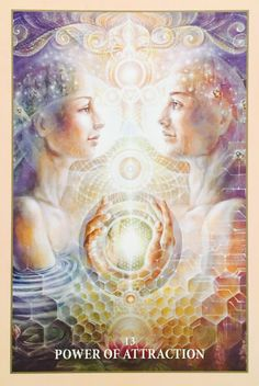 Power Of Attraction, from the Sacred Rebels Oracle Card deck, by Alana Fairchild, artwork by Autumn Skye Morrison Doreen Virtue, Twin Flame Love, Twin Flames, Power Of Attraction, Deck Of Cards, Card Deck, Angel Guidance, Oracle Tarot, Angel Cards