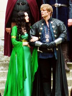 Arthur. Why you wearing Uther's clothes?