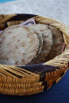 Gluten-free Buckwheat Flatbread.