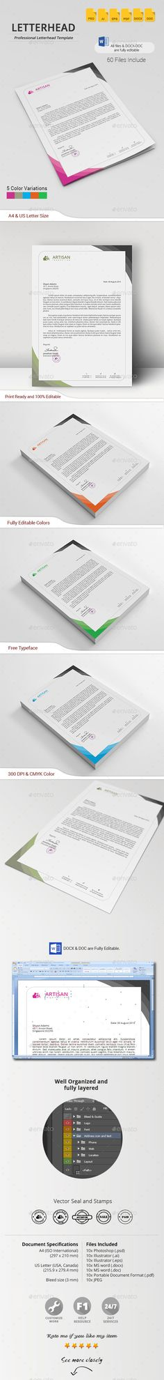 Creative Lawyer Letterhead #4 Lawyer, Stationery printing and