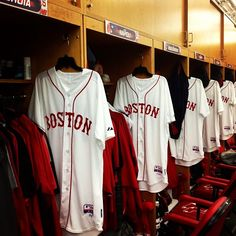 Boston Red Sox Whites // Boston on front rather than Red Sox in honor of this rough week // #bostonstrong