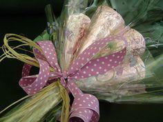 Bouquet de cone trufado por Oficina de Sabores.
